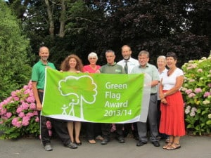 Green Flag Award Tessier Garden