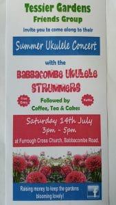 Summer Ukulele Concert